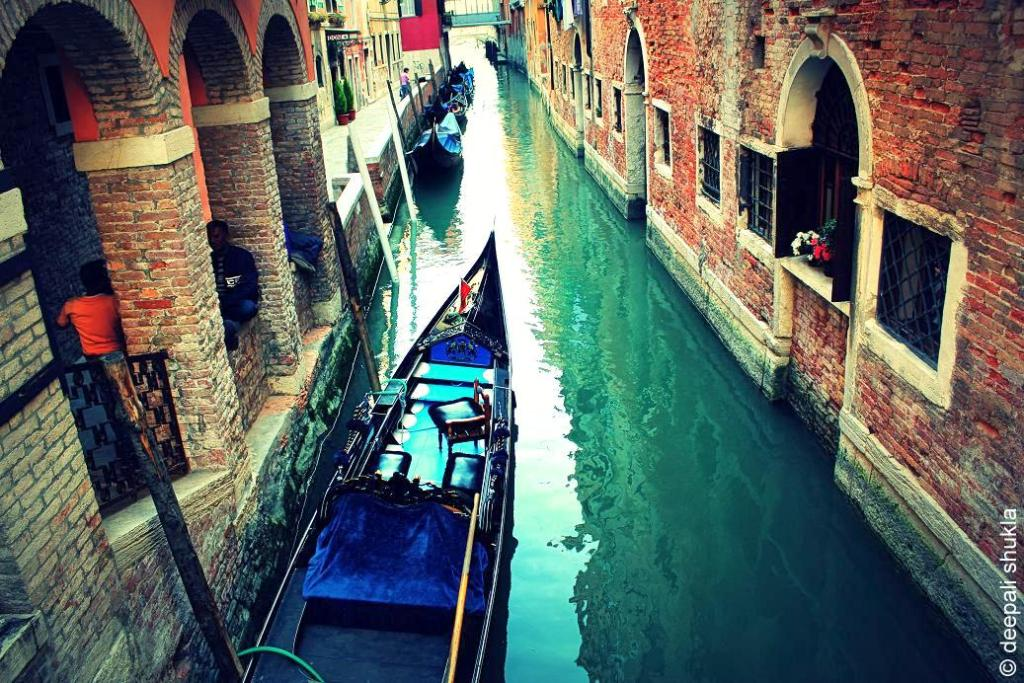 waterways and canals of Venice